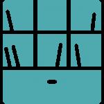 Custom Shelving Icon